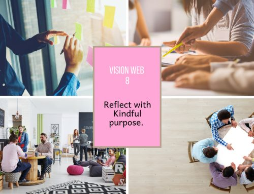 Vision Web 8 Reflect with kindful purpose