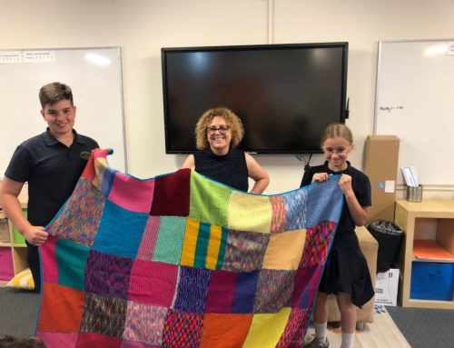 Knit a Care Square 2019